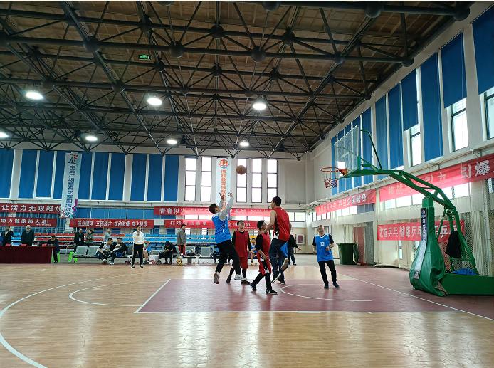 运动快乐 共筑和谐 ——南大港公司举办篮球邀请赛