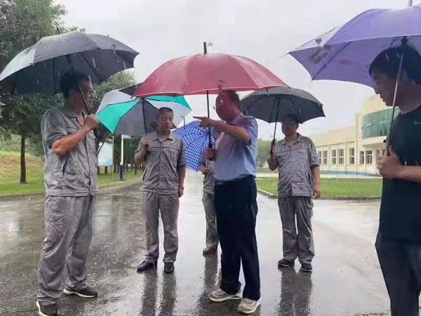 汛期不过 排查不止 ——沧州供排水集团持续开展防汛...